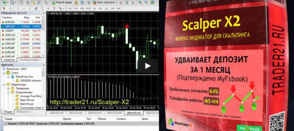 Индикатор для скальпинга ScalperX2! Точный индикатор форекс!